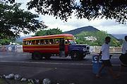 Bus, Apia, Samoa<br />