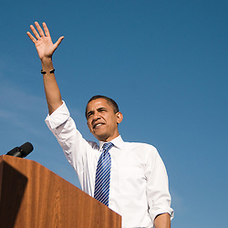 Barack Obama at Peccole Park (102508)