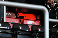 Football - 2016 / 2017 Premier League - AFC Bournemouth vs. Sunderland<br /> <br /> A seat reserved for the away manager at Dean Court (The Vitality Stadium) Bournemouth<br /> <br /> COLORSPORT/SHAUN BOGGUST
