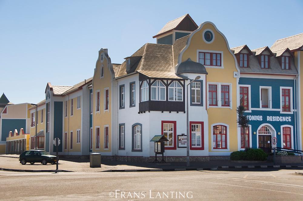 German-style architecture, Swakopmund, Namibia