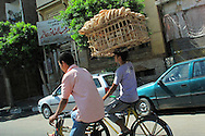 Alberto Carrera, Street Scene, Cairo, Egypt