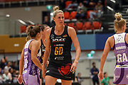Magic's Casey Kopua. ANZ Premiership Netball, Northern Stars v Splice Construction Magic, Bruce Pulman Arena, Auckland, Monday 8th April 2019. Copyright Photo: Shane Wenzlick / www.photosport.nz
