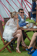 ALEXANDRA MAUERGRUZ; ALEXEI MAUERGRUZ;, Cartier Queen's Cup. Guards Polo Club, Windsor Great Park. 17 June 2012