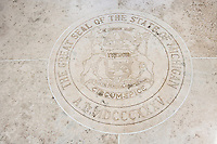 Seal of Michigan in Fort Bonifacio; Manila; Philippines