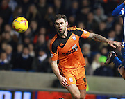 Ipswich Town striker Daryl Murphy during the Sky Bet Championship match between Brighton and Hove Albion and Ipswich Town at the American Express Community Stadium, Brighton and Hove, England on 29 December 2015. Photo by Bennett Dean.