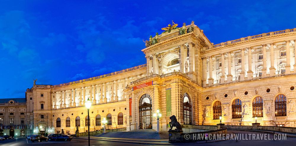 Osterreichische Nationalbibliothek (Austrian National Library) at the Hofburg (Court Palace), Vienna