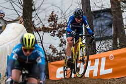 BARONI Francesca (ITA) during Women Elite race, 2019 UCI Cyclo-cross World Cup Heusden-Zolder, Belgium, 26 December 2019.<br /> <br /> Photo by Pim Nijland / PelotonPhotos.com <br /> <br /> All photos usage must carry mandatory copyright credit (Peloton Photos | Pim Nijland)