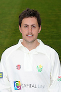 Nick James. Glamorgan County Cricket Club, season 2012, photocall at the Swalec Stadium in Cardiff. pic by Andrew Orchard