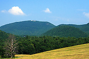The rolling hills and mountains of Wells, VT