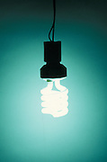 illuminated energy savings light bulb