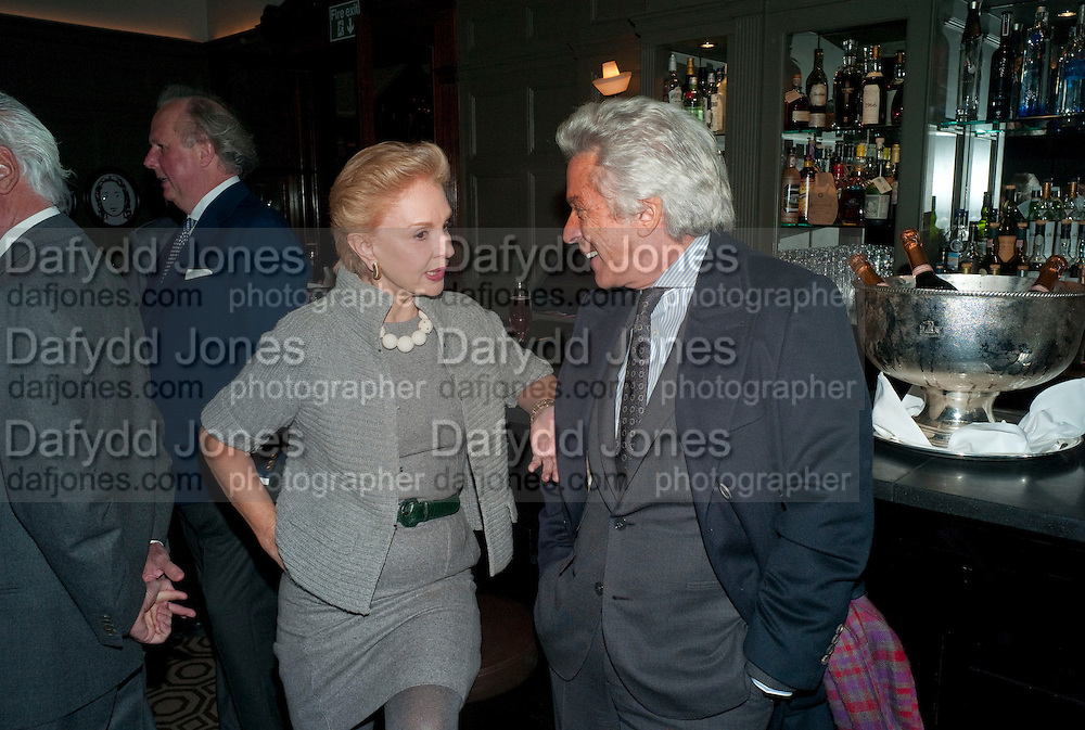 CAROLINA HERRERA; GIANCARLO GIACOMETTI, Graydon and Anna Carter host a lunch for Carolina Herrera to celebrate the ipening of her new shop on Mount St. .The Connaught. London. 20 January 2010