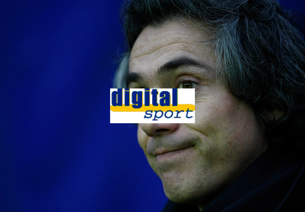 Photo: Steve Bond/Richard Lane Photography. Leicester City v Swansea City. FA Cup Third Round. 02/01/2010. Paulo Sousa looks rueful