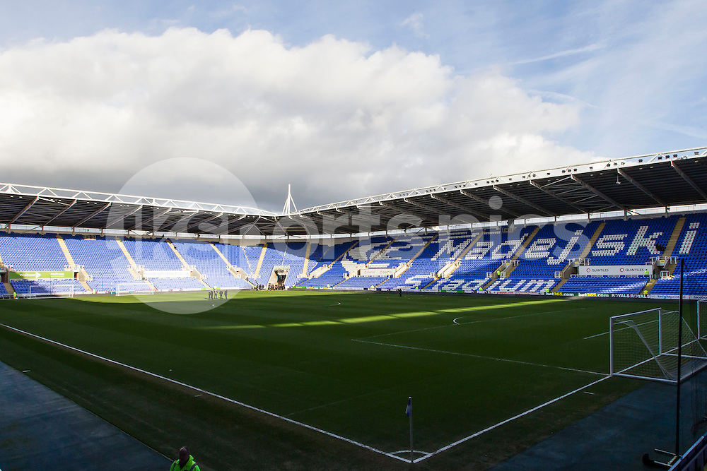Madejski Stadium during the Sky Bet Championship match between Reading and Middlesbrough at the Madejski Stadium, Reading, England on 10 January 2015. Photo by Gareth  Brown.