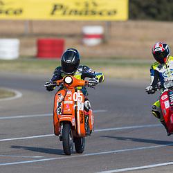 24 horas de resistencia Vespa,en el Circuito de Zuera,Aragon,Zaragoza.