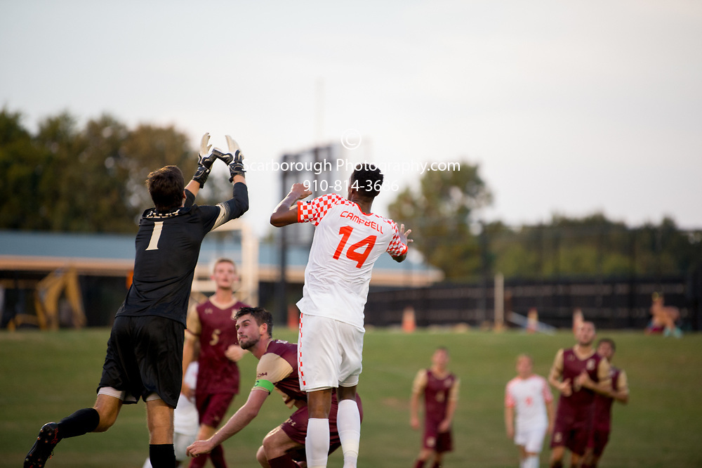 2017 Campbell University Men Soccer vs Elon