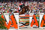 Eduardo Alvarez Aznar, (ESP), Rokfeller De Pleville Bois, World Champions, - Second Round Team Competition - Alltech FEI World Equestrian Games™ 2014 - Normandy, France.<br /> © Hippo Foto Team - Leanjo De Koster<br /> 25/06/14
