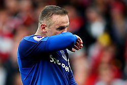 Wayne Rooney of Everton looks dejected - Mandatory by-line: Matt McNulty/JMP - 17/09/2017 - FOOTBALL - Old Trafford - Manchester, England - Manchester United v Everton - Premier League
