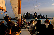 On boats in New york port NY665A