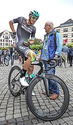 02.07.2017, Duesseldorf, GER, Tour de France, 2. Etappe von Düsseldorf (GER) nach Lüttich (BEL/203 km), im Bild SELIG Rüdiger (GER, Team Bora-hansgrohe) // Ruediger Selig of Germany during Stage 2 from Duesseldorf (GER) to Luettich (BEL/203 km) of the 2017 Tour de France in Duesseldorf, Germany on 2017/07/02. EXPA Pictures © 2017, PhotoCredit: EXPA/ Martin Huber