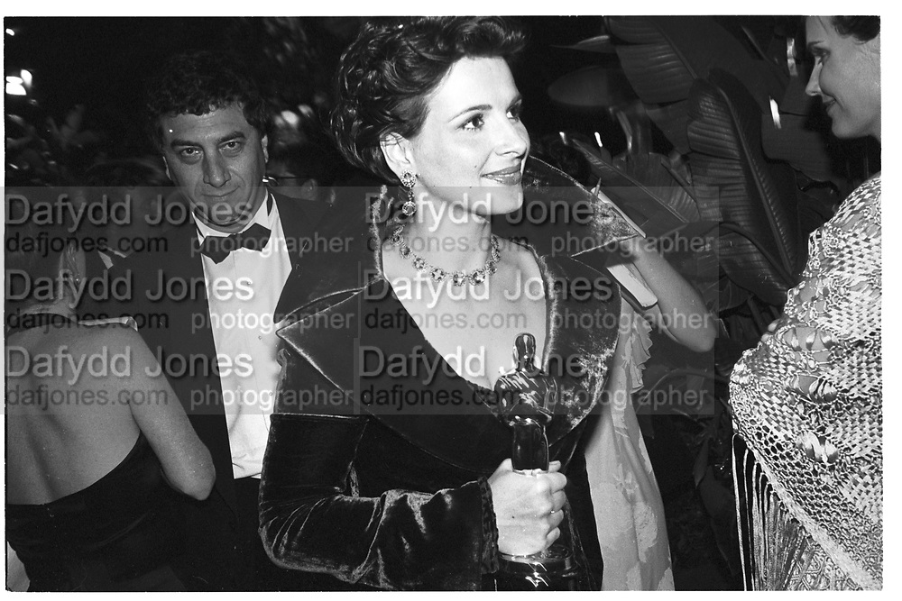 Juliette Binoche. V.F Oscar night Party. 24 March 1997., <br /> <br /> SUPPLIED FOR ONE-TIME USE ONLY&gt; DO NOT ARCHIVE. &copy; Copyright Photograph by Dafydd Jones 248 Clapham Rd.  London SW90PZ Tel 020 7820 0771 www.dafjones.com