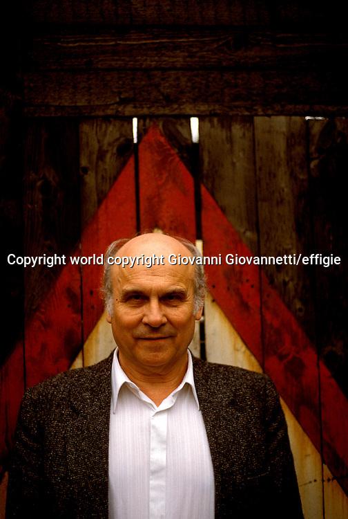 Ryszard Kapuscinski<br />world copyright Giovanni Giovannetti/effigie