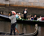 Wedding aboard La Gondola in Providence, Rhode Island, April 2012