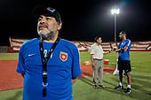 Diego Maradona in Fujairah