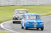 HSCC Gold Cup Oulton Park, Cheshire, United Kingdom.  28th-29th August 2011.  Race 11 HSCC ByBox Historic Touring Cars.  87 Simon Benoy - Hillman Imp. World Copyright: Peter Taylor/PSP. Copy of publication required for printed pictures. Every used picture is fee-liable.