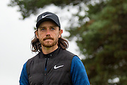 Tommy Fleetwood of England during the British Masters 2018 at Walton Heath Golf Course, Walton On the Hill, Surrey on 14 October 2018. Picture by Martin Cole.