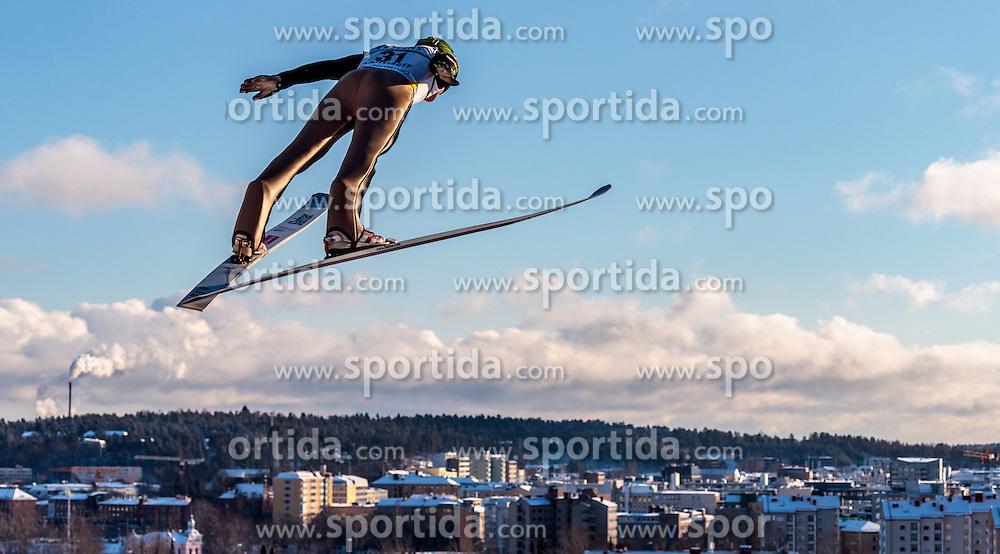 24.02.2017, Lahti, FIN, FIS Weltmeisterschaften Ski Nordisch, Lahti 2017, Nordische Kombination, Skisprung, im Bild Leevi Mutru (FIN) // Leevi Mutru of Finland during Skijumping of Nordic Combined competition of FIS Nordic Ski World Championships 2017. Lahti, Finland on 2017/02/24. EXPA Pictures © 2017, PhotoCredit: EXPA/ JFK