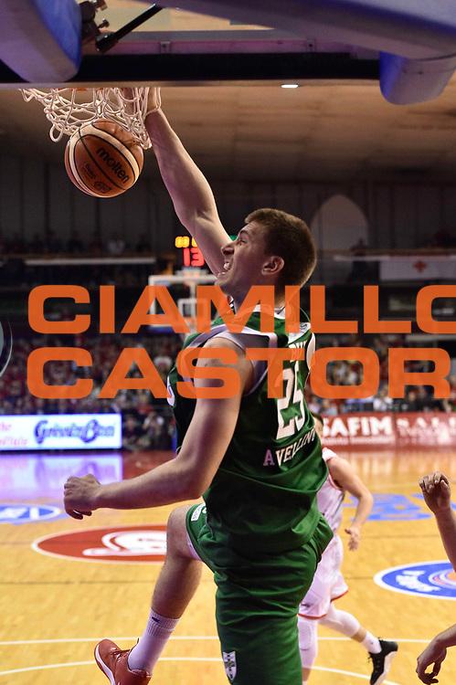 Reggio Emilia 18.05.2016<br /> Basket Serie A - Playoff Semifinali Gara 1<br /> Grissini Bon Reggio Emilia - Sidigas Avellino<br /> <br /> Nella foto: Ivan Buva