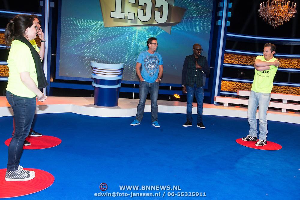 NLD/Amsterdam/20140415 - Presentatie Alles Mag op Vrijdag, Jandino Asporaat en Gerard Joling