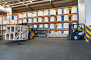 Warehouse in the Port storing cargo