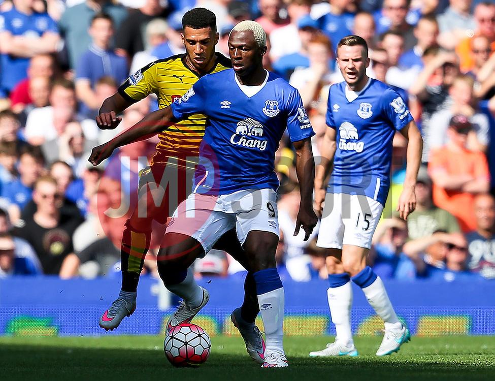Everton's Arouna Kone in action- Mandatory byline: Matt McNulty/JMP - 07966386802 - 08/08/2015 - FOOTBALL - Goodison Park -Liverpool,England - Everton v Watford - Barclays Premier League