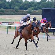 King Torus and Adam Kirby winning the 7.45 race