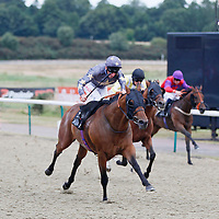 King Torus and Adam Kirby winning the 7.45 race