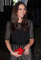 NOV 28 2013 Duchess of  Cambridge at SportsAid ball