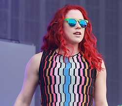 © London News Pictures. Katy B, Wireless 10, Finsbury Park, London UK, 28 June 2015, Photo by Brett D. Cove /LNP