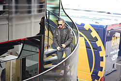 February 19, 2019 - Barcelona, Spain - English five time World Champions Lewis Hamilton of German team Mercedes-AMG Petronas Motosport go out to his motorhome during Barcelona winter test in Catalunya Circuit in Montmelo, Spain, on February 19, 2019. (Credit Image: © Andrea Diodato/NurPhoto via ZUMA Press)