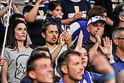 DESCRIZIONE : Campionato 2014/15 Dinamo Banco di Sardegna Sassari - Dolomiti Energia Aquila Trento Playoff Quarti di Finale Gara4<br /> GIOCATORE : Flavio Soriga<br /> CATEGORIA : Spettatori Pubblico Tifosi VIP<br /> SQUADRA : Dinamo Banco di Sardegna Sassari<br /> EVENTO : LegaBasket Serie A Beko 2014/2015 Playoff Quarti di Finale Gara4<br /> GARA : Dinamo Banco di Sardegna Sassari - Dolomiti Energia Aquila Trento Gara4<br /> DATA : 24/05/2015<br /> SPORT : Pallacanestro <br /> AUTORE : Agenzia Ciamillo-Castoria/L.Canu