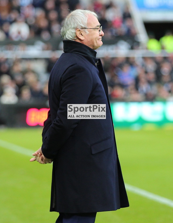 Newcastle United v Leicester City English Premiership 21 November 2015; Claudio Ranieri (Leicester first team manager) during the Newcastle v Leicester City English Premiership match played at St. James' Park, Newcastle; <br /> <br /> &copy; Chris McCluskie | SportPix.org.uk