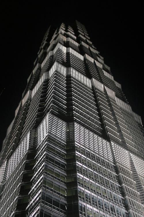 Jin Mao Tower, Shanghai, China, 2007.