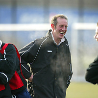 St Johnsone training....05.12.03<br />Having fun during the weekly competition, the loser buys the buscuits, Billy Stark leads the laughs with Ross Forsyth and Peter MacDonald<br />see story by Gordon Bannerman Tel 01738 553978<br />Picture by Graeme Hart.<br />Copyright Perthshire Picture Agency<br />Tel: 01738 623350  Mobile: 07990 594431