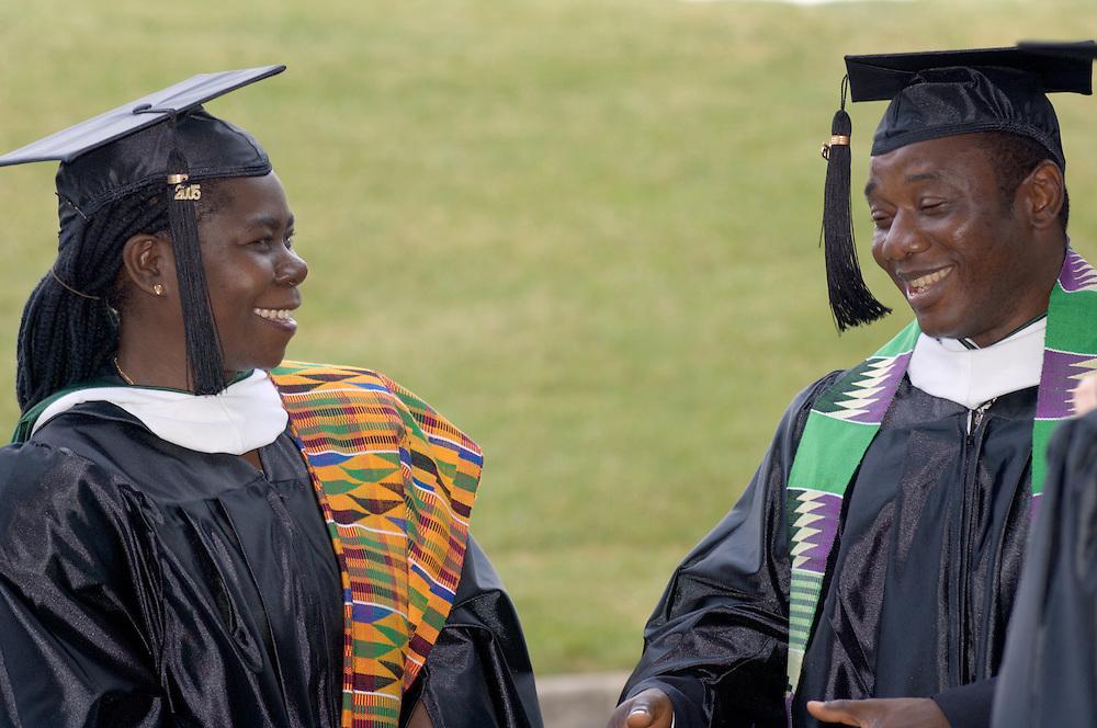 Sally Owusu-Kwarteng & Milton Koroma