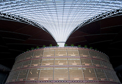 Interior of new National Grand Theatre nicknamed The Egg in Beijing China