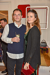 Viscount Erleigh and his sister Lady Natasha Finch at the reopening of the Cartier Boutique, New Bond Street, London, England. 31 January 2019. <br /> <br /> ***For fees please contact us prior to publication***