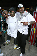 l to r: Slick Rick, Maseo(Dela Soul) and Busta Ryhme at The Rock the Bells International Festival Series powered by SandDisk held at Jones Beach on August 3, 2008..Few events can claim to both capture and define a movement, yet this is precisely what Rock The Bells has done since its inception in 2003. Rock The Bells is more than a music festival. It has become a genuine rite of passage for thousands of core, social, conscious, and independent Hip Hop enthusiasts, backpackers, and heads. Following in the colorful tradition and history of past Hip Hop music festivals such as Smoking Grooves and Cypress Hill?s Smoke Out, Rock The Bells is the ultimate Hip Hop platform and premiere music experience in America. Rock The Bells has established a forum of unparalleled diversity and excellence by uniting the biggest names involved with urban culture.