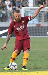 July 20, 2018 - Frosinone, Lazio, Italy - Daniele De Rossi during the Pre-Season Friendly match between AS Roma and Avellino at Stadio Benito Stirpe on July 20, 2018 in Frosinone, Italy. (Credit Image: © Silvia Lore/NurPhoto via ZUMA Press)