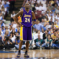 14 June 2009: Kobe Bryant of the Los Angeles Lakers is seen during game 5 of the 2009 NBA Finals won 99-86 by the Los Angeles Lakers over the Orlando Magic at Amway Arena, in Orlando, Florida, USA. Kobe Bryant scores 30 points and leads the Lakers to15th Championship.