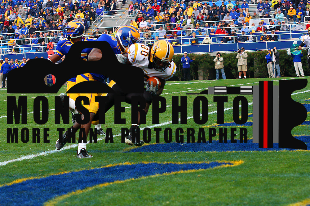 11/08/08 NEWARK, Delaware: The University of Delaware got some unexpected, but much-needed, contributions Saturday afternoon and the Blue Hens returned to winning ways with a 31-21 Colonial Athletic Association football victory over Towson at Delaware Stadium..